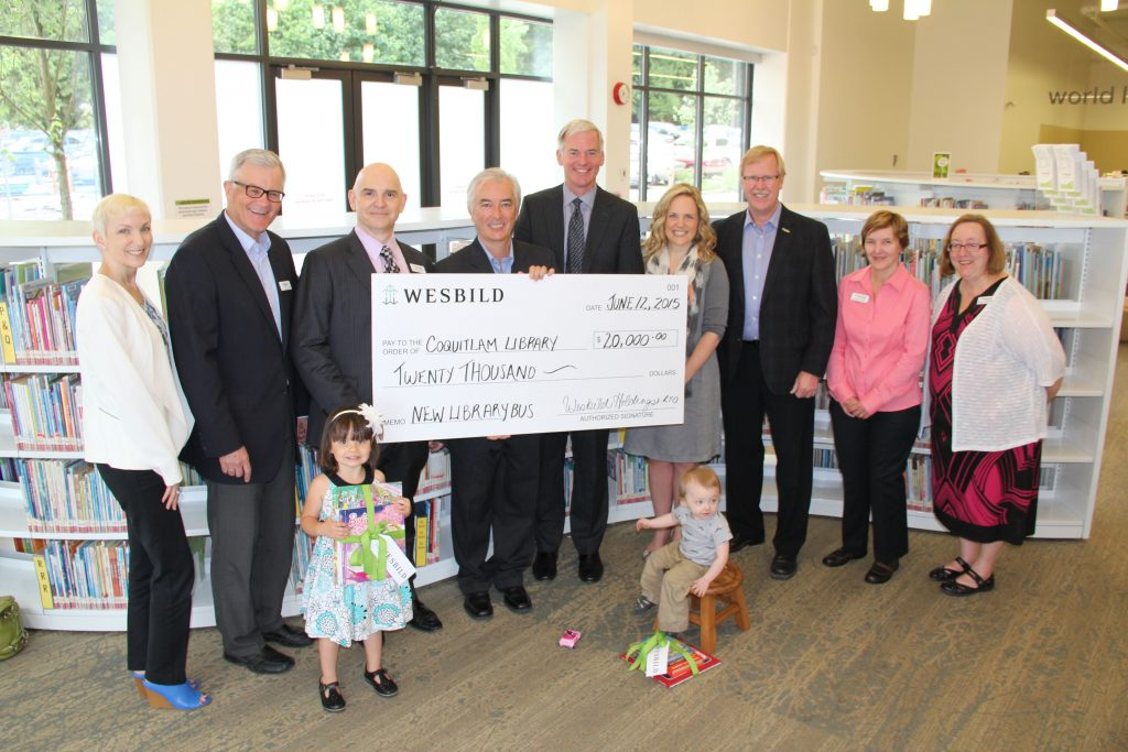Coquitlam Library Book Bus Donation