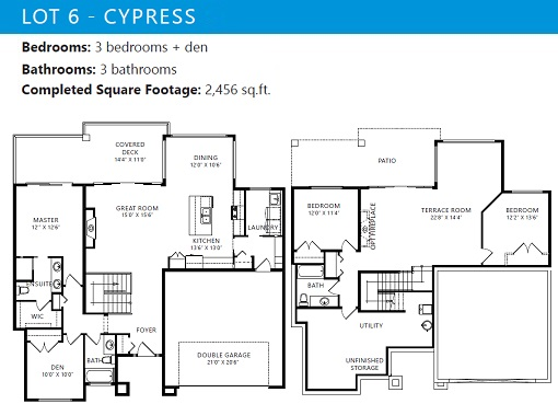 Turtle Mountain Cypress Floorplan