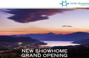 Turtle Mountain New Show Home